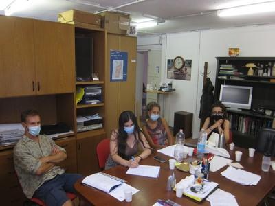 Momento di formazione dei volontari SCU