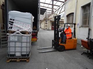carico secondo container